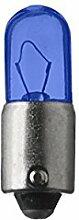 SPAHN-10 Stück Glühlampe 12V 4W Ba9s blau