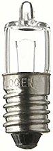 SPAHN-10 Stück Glühlampe 4V 500mA E10 Halogen