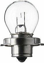SPAHN-10 Stück Glühlampe 6V 15W P26s S3