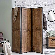 Spanischer Raumteiler aus Akazie Massivholz und