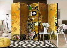 Spanischer Raumteiler im Kunstgemälde Design Bunt