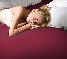 Spannbettlaken Bella Donna Jersey für Matratzen &