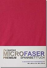 Spannbettlaken Tuch Laken Spannbetttuch Microfaser