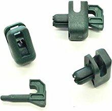 Spanndrahthalter 30 Stck. mit 10 mm Spreizdübel,