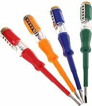 Spannungsprüfer Lichtgerät Schraubendreher-test-