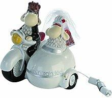 Spardose Brautpaar Hochzeitswagen für