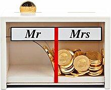 Spardose Mr & Mrs Weiß – lustige Geldgeschenke