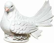 Spardose Taube zur Hochzeit mit Schraubverschluss