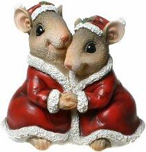 Spardose Weihnachts-Mäuse TOTAL niedliche GESCHENKIDEE zu Weihnachten