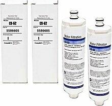spares2go 55866055586606Art Wasser-Filter für Dometic Kühlschrank Gefrierschrank (2Stück)