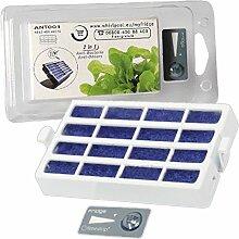 spares2go antibakteriell Microban Air & Geruchsfilter für Bauknecht Kühlschrank Gefrierschrank