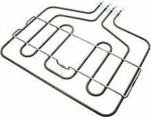 spares2go Backofen Grill Element für Bosch Herdarten