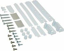 spares2go Decor Tür Slider Montagekit für Whirlpool Kühlschrank Gefrierschränke Fitment List A