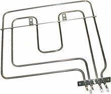 spares2go Dual Circuit Ofen Grill Element für Blomberg Backofen Kochfeld (2200W)