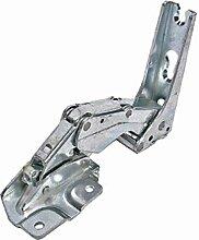 spares2go integrierte Tür Scharnier für Kaminöfen Kühlschrank Gefrierschrank (oben links, unten rechts)