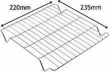 spares2go kleinen Platz Grill Pfanne Rack Einsatz Tablett für Kaminöfen Ofen Kochfeld