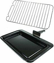 spares2go komplett Grill Pfanne Griff + Tablett Ständer für Rangemaster Ofen/Herd Fitment List B