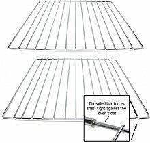 spares2go Verstellbare Einlegeböden ausziehbar