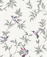 Sparkle Birds – Glitter – FD41926 – Tapete