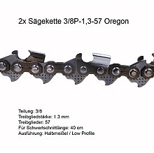 Sparpaket 2 Stück Oregon Sägekette Set