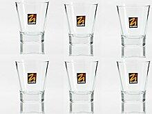Sparset: 6x Zicaffe Espressoglas - Espressotasse -