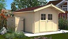 Sparset weka Gartenhaus Premium28 DT, 250x250, V60, inkl. DS ro