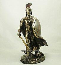Spartaner-Statuette Leonidas, König von Sparta,