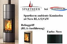 Spartherm ambiente a4 Nero 5,9 kW Kaminofen Schwedenofen Ofen