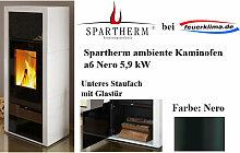 Spartherm ambiente a6 Nero 5,9 kW Kaminofen Schwedenofen Ofen