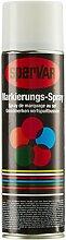SparVar Boden - Markier - Spray Ral 9016 Verkehrsweiß mit Überkopfventil, 500 ml, weiß, 6029160