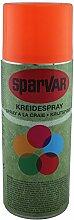 SparVar Kreidespray Neon mit Überkopfdüse, 400 ml, leuchtrot, 6001029