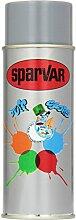SparVar Lackspray Graffiti-Art 400 ml Old School, Feine Striche Geringe Steuung, silbergrau, 6030241