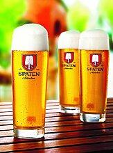 Spaten Premium Bierglas 0,5 Liter [6er Set]