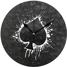 Spaten Textur Neuheit Kunst dekorative runde