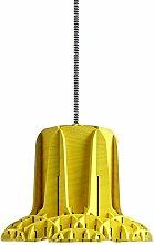 Specimen spe140237Cross Lampe Holz/Beton 15W E27gelb