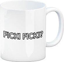 speecheese Ficki Ficki? Kaffeebecher für alle die