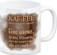 speecheese Kaffee - Kaffeebecher mit Wortdefinition