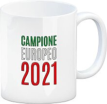 speecheese Kaffeebecher Campione Europeo 2021