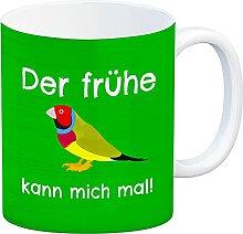 speecheese Kaffeebecher mit Bild und Spruch Der