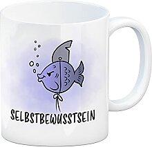 speecheese Selbstbewusstsein - Kaffeebecher mit