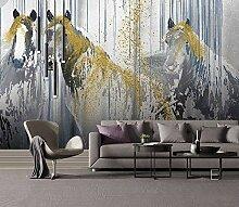 Speedcoming Abstrakte Tapeten Pferd Malerei