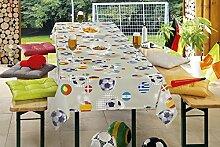 Spektakuläre Tischdecke für Biertisch /