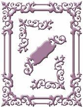 Spellbinders Shapeabilities Dies-Regal Frame