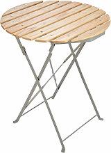 Spetebo - 2.04 Gartentisch Holz rund - Art.-Nr.: