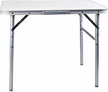 Spetebo Camping Klapptisch Aluminium - sehr leicht