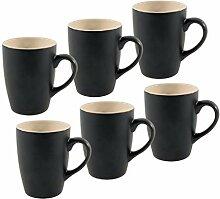 Spetebo Kaffeetasse 340 ml aus Porzellan in