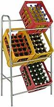 Spetebo Kastenständer XXL für 6 Kisten - Farbe: