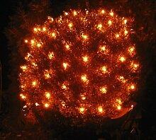 Spetebo Lichternetz 100 LED warmweiß - Batterie