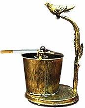 Spezielle Design Aschenbecher Rauch Sammler Tribal Dekoration-Gold