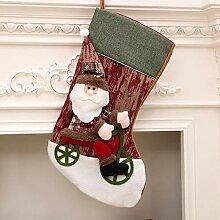SPFAZJ Strümpfe Weihnachten Dekoration